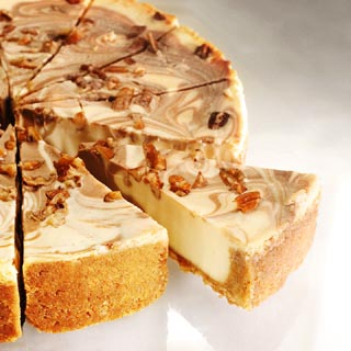 turtle cheesecake gourmet turtle cheesecake has a caramel cream cheese ...