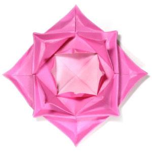 origami maniacs easy origami lotus flower