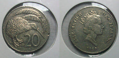 new zealand 20 cent 1989