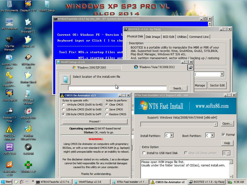 Как сделать boot windows xp