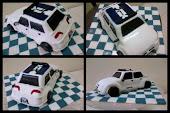 kek hantaran kereta