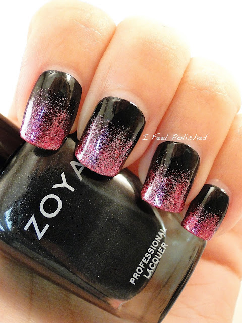 Black and Pink Gradient