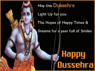 Happy Dussehra SMS Wishes and Wallpapers 2015