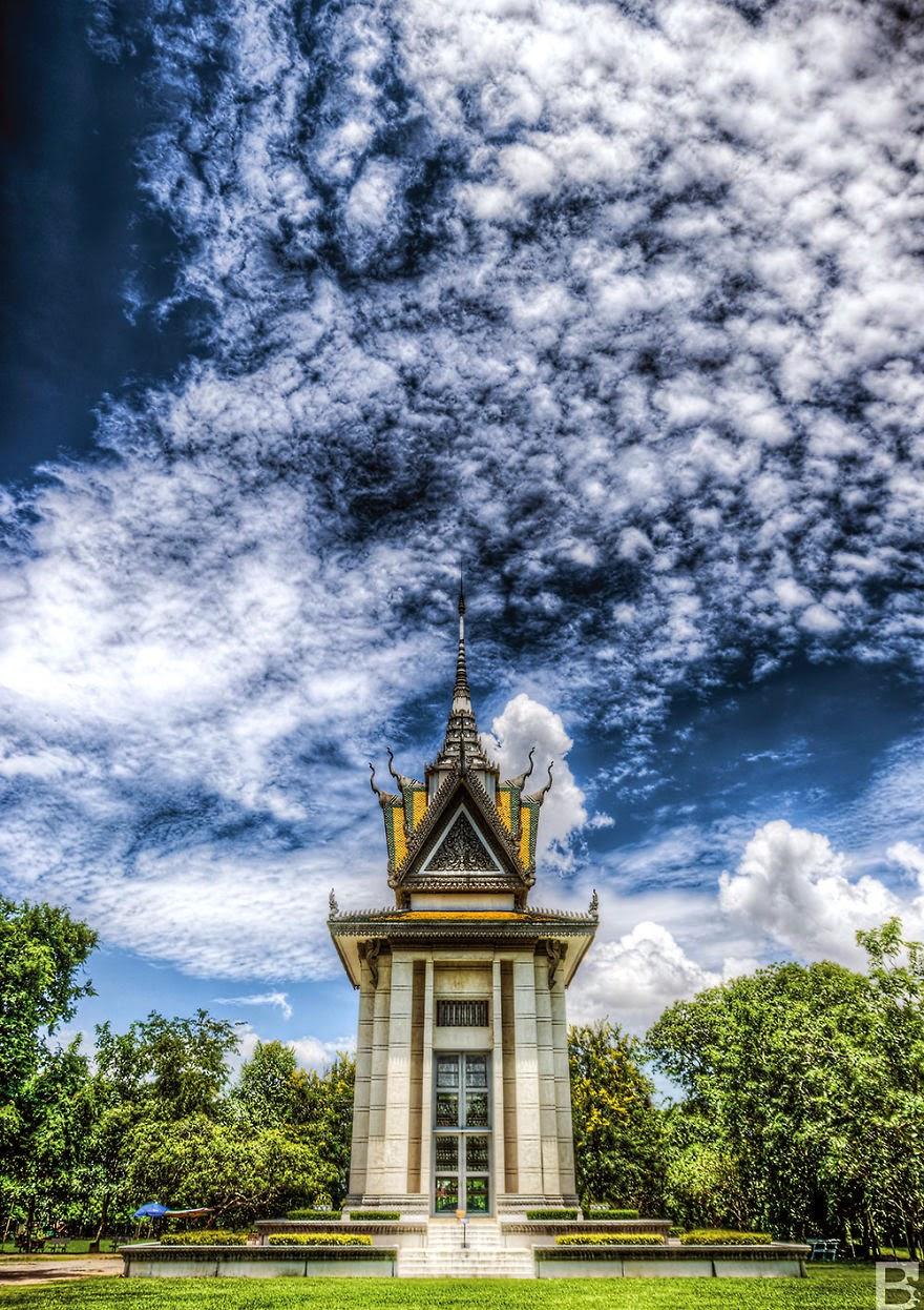Cambodia in rain season 6