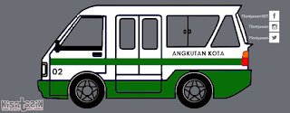 Trayek dan Info Angkot 02 di Tasikmalaya | Kisatasik