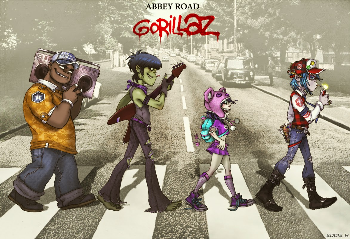 Y Gorillaz Motion Graphics...