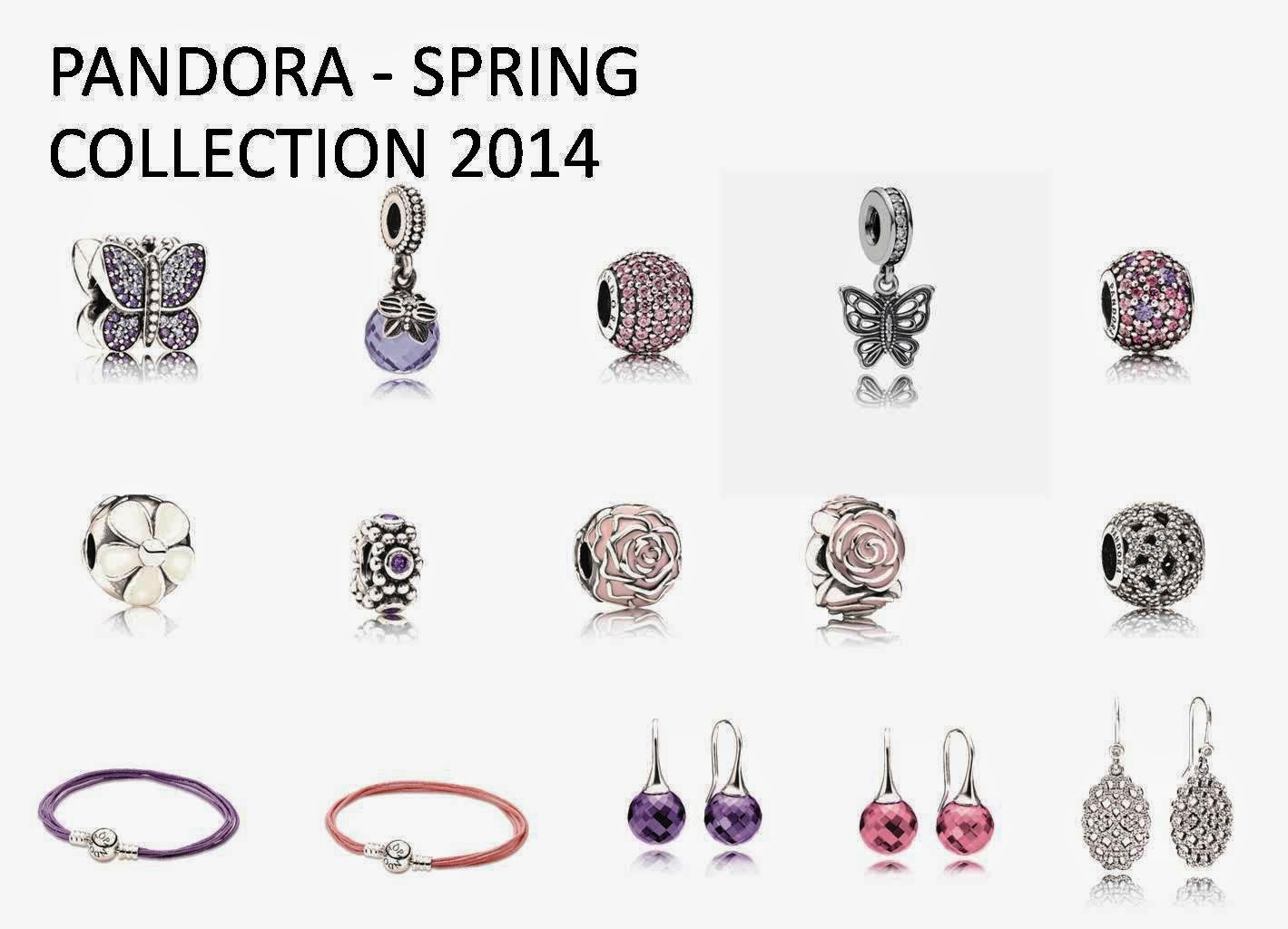 Pandora Spring Collection 2014, pandora charms, pandora spring collection, Soft Spring Flora, Delicate Butterflies, Sparkling Butterfly, Flora Brilliance, pink mix pave ball, home sweet home, my sweet pet charm