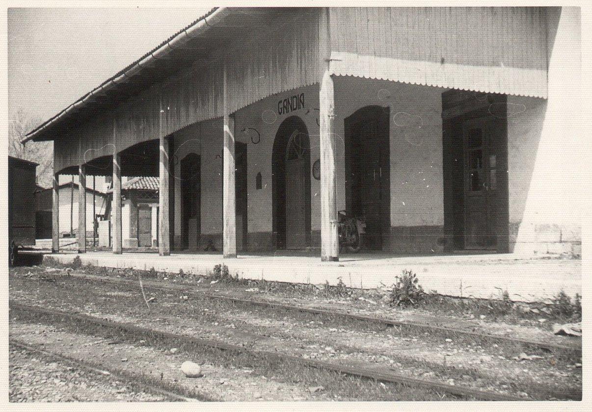 Estació de Gandia. Foto: Paco Gramage