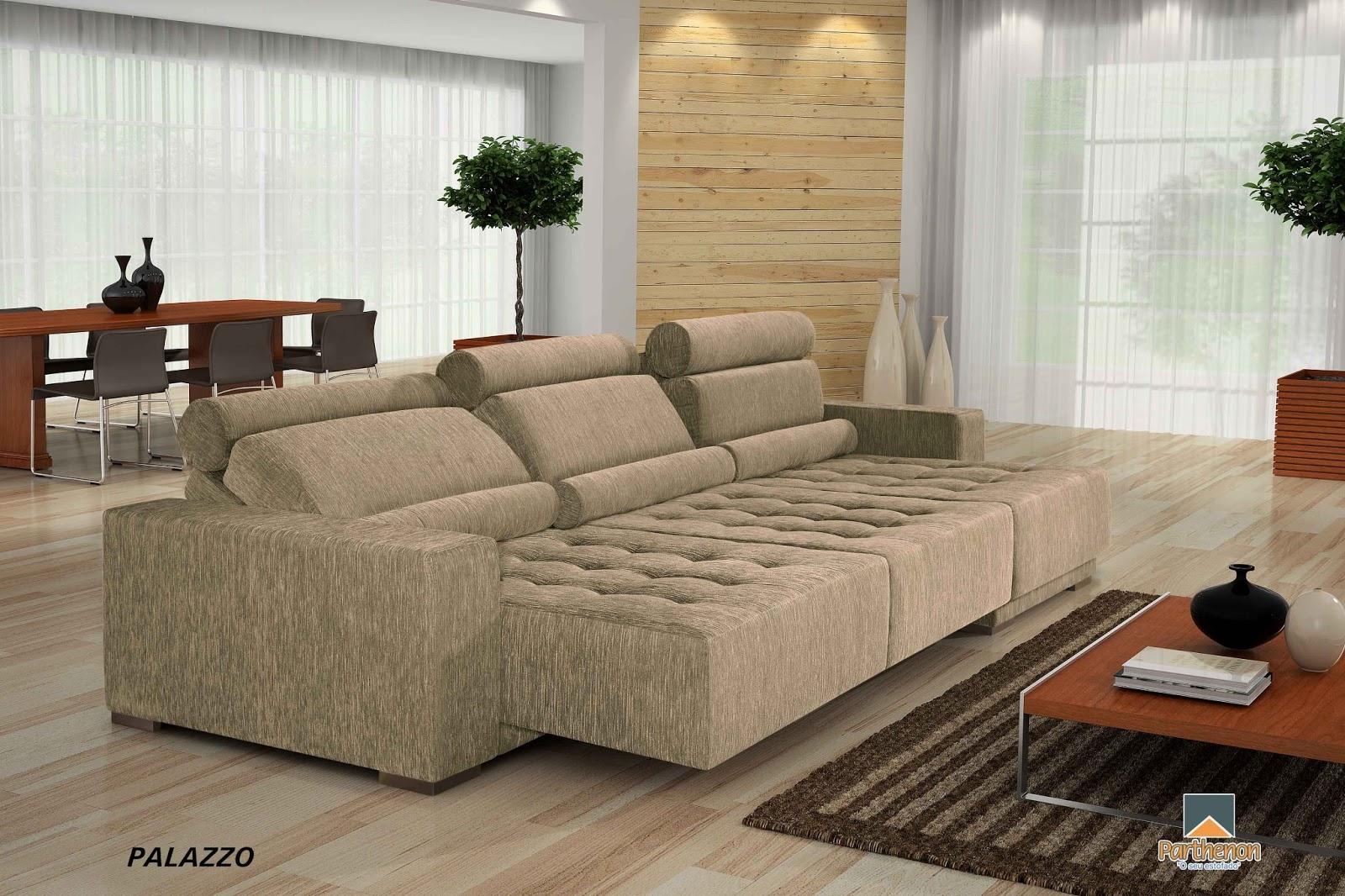 Qual o melhor sof para minha sala fotos de lindos sof s for Sofa grande sala pequena