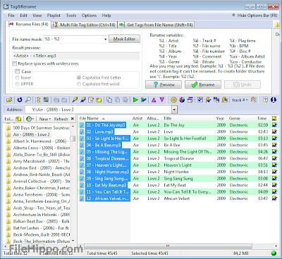 Tag&Rename 3.7 Free Download Full