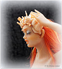 171 Art Doll Mermaid Anita Wall Decor