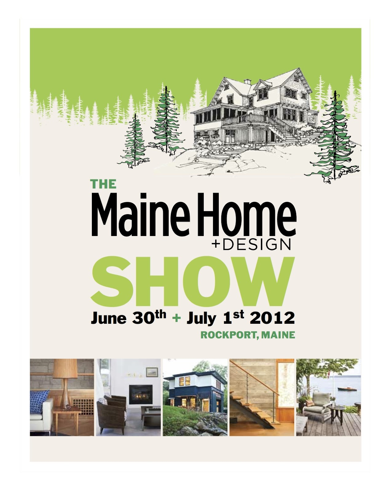 Rocky coast news maine home design magazine springs to for Maine home plans