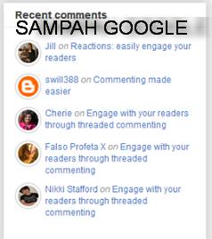 Tutorial Membuat Widget Recent Comment Blogspot