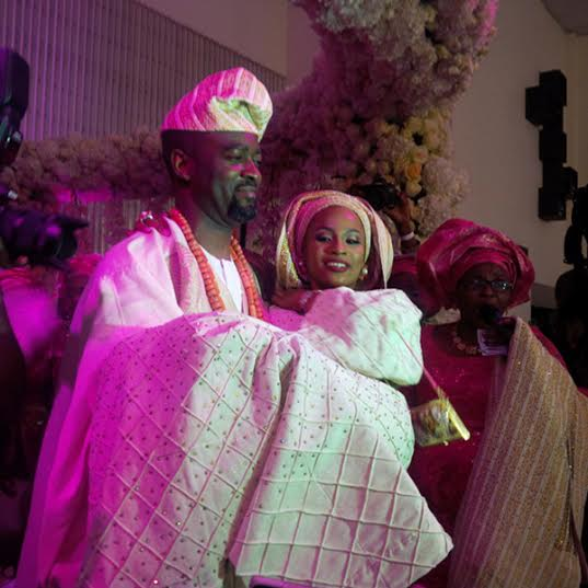 Oyo state governor's daughter Jibola wedding