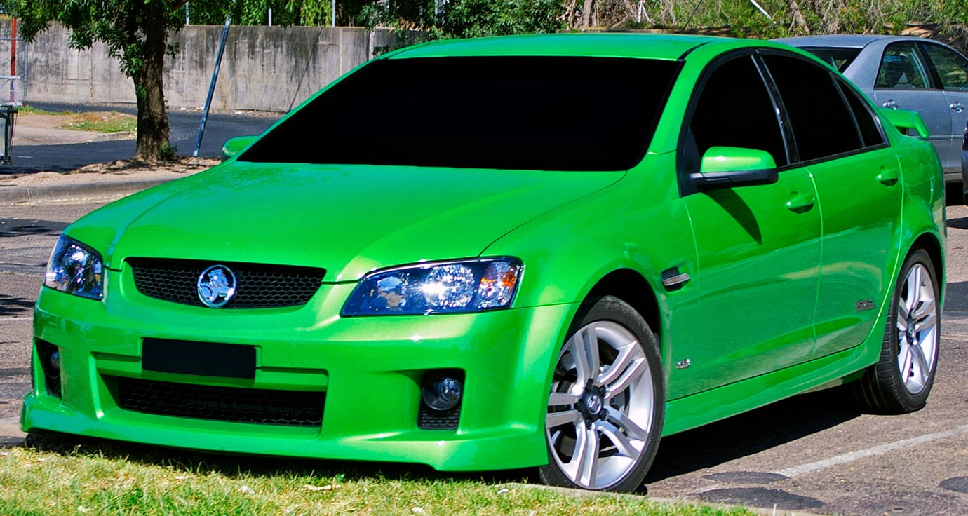 Holden updated the Commodore with the VE series in 2006