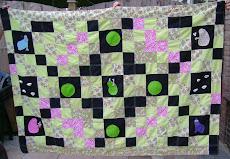 Mijn allereerste quilt