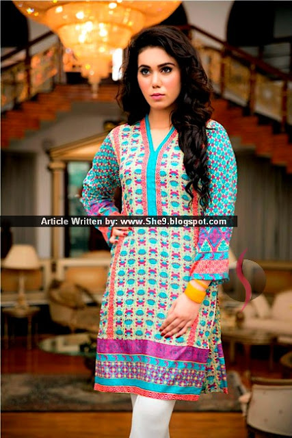 Phulkri Eid Collection 2015 by Taana Baana