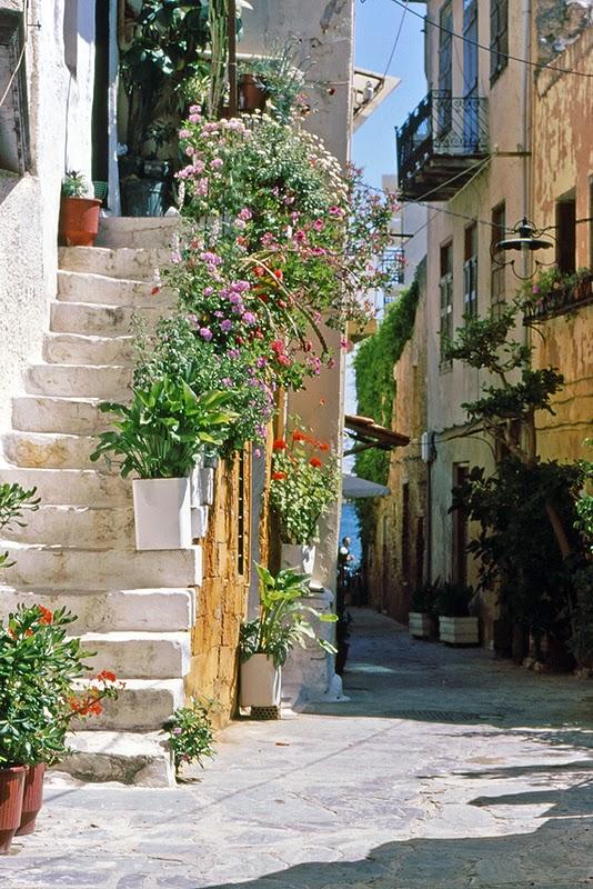 Ruelle à Hania (Crète, Grèce)