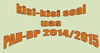 Kisi-kisi Ujian Akhir Semester (UAS) Pendidikan Agama Hindu dan Budi Pekerti Kelas X tahun 2014/2015