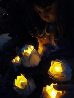 garden party paper lanterns
