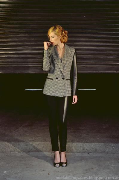 Sacos y blazers colección Fructuoso invierno 2013.