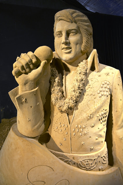 Sandwonderland Blankenberge The King Elvis