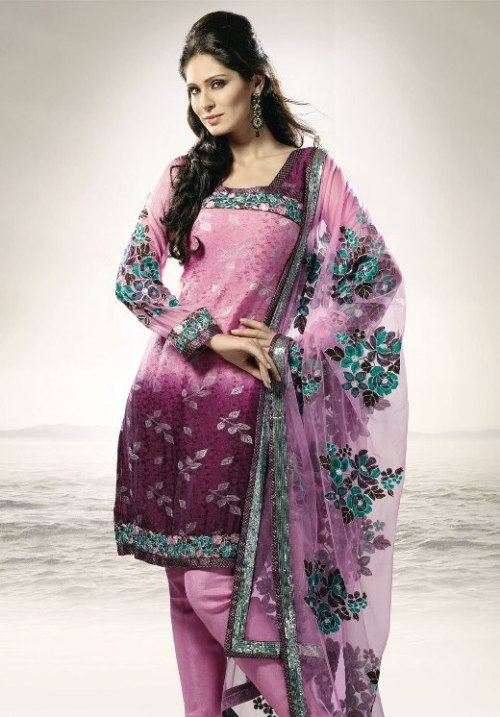 Latest Suits Designs For Girls in 2012