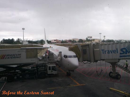 Malaysia Airlines plane at NAIA Terminal 1