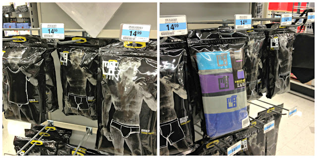 MaLo men's underwear display at Kmart #MaLoUnderwear