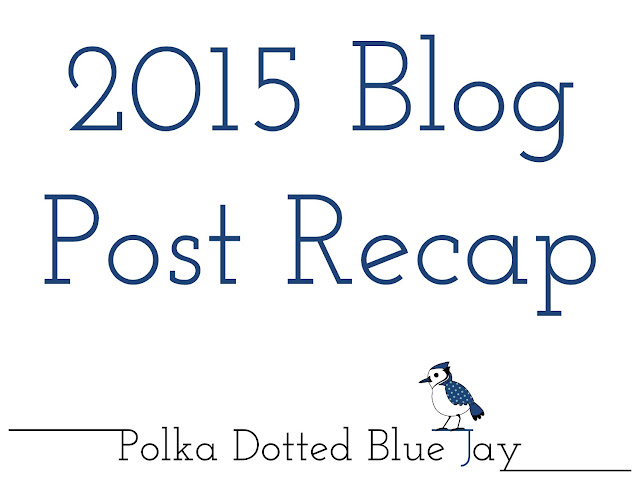 Here are my favorite life and blog moments from 2015 in my end of the year blog recap post!