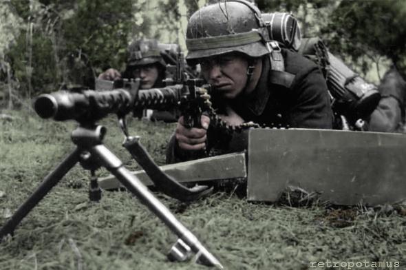 german ww2 machine gun