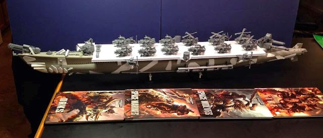 Fantastic Ork Projects, Eldar Corsairs, and Eldar vs Iron Hands Batrep