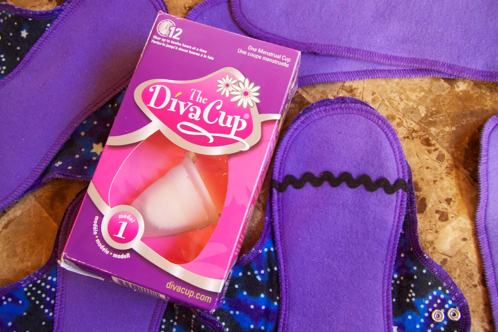 The DivaCup and Two Mini PantyLiners from Lunapads Review