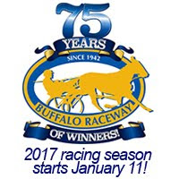 Racing resumes on Wednesday, Jan. 18th at 5 p.m.