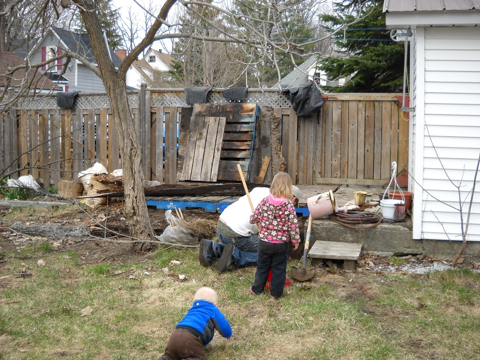 the mrs back yard diy the catastrophically bad before