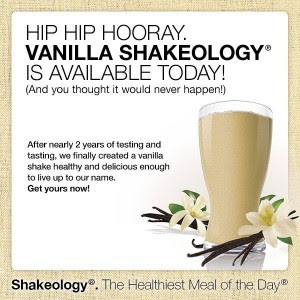 Try Vanilla Shakeology Free