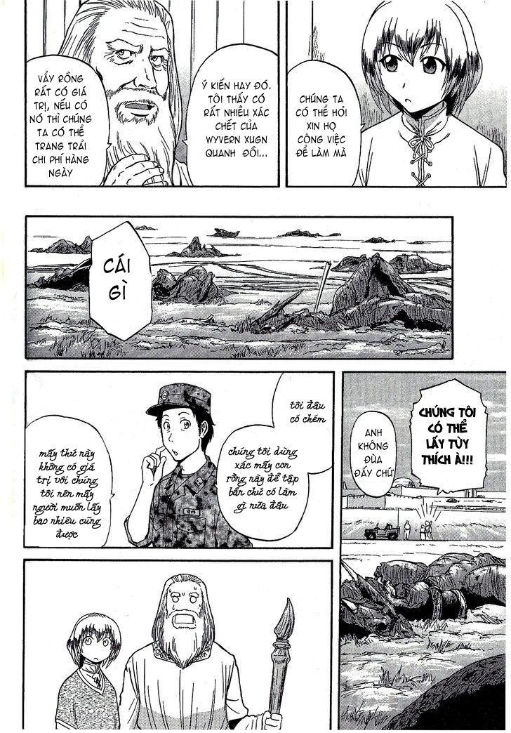 Gate – Jietai Kare no Chi nite, Kaku Tatakeri chap 7 Trang 22 - Mangak.info