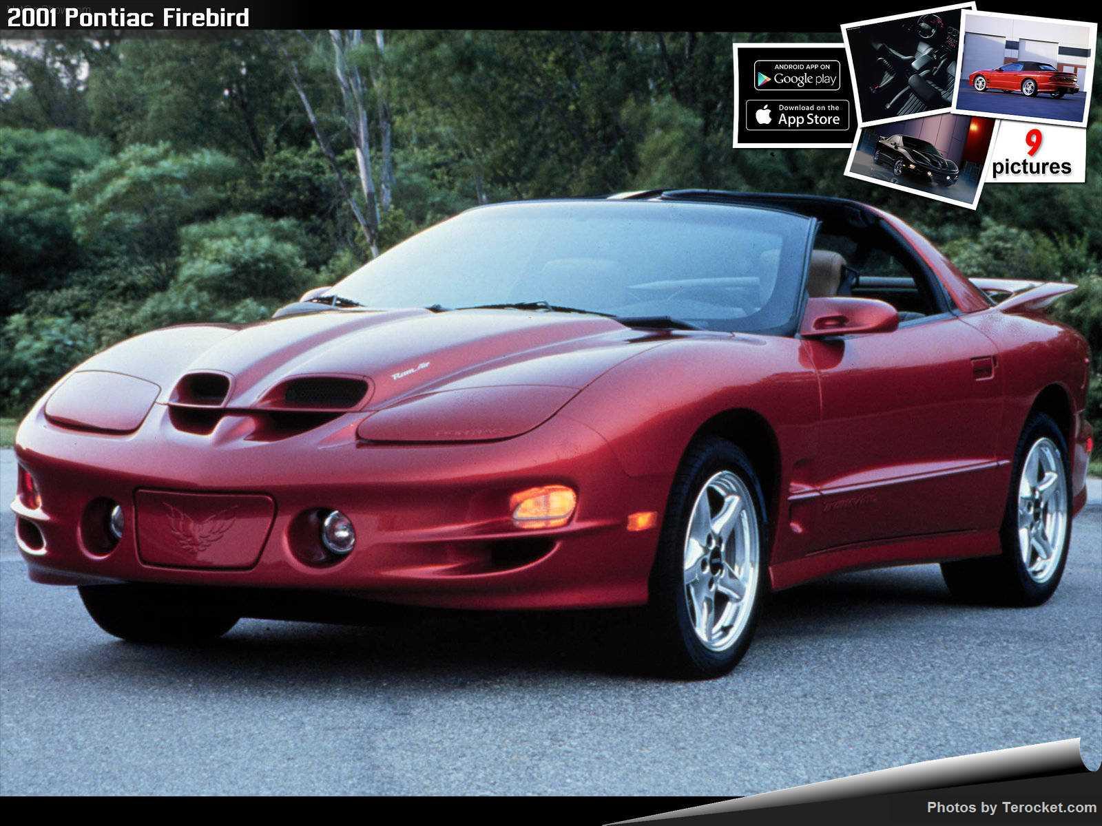 Hình ảnh xe ô tô Pontiac Firebird 2001 & nội ngoại thất