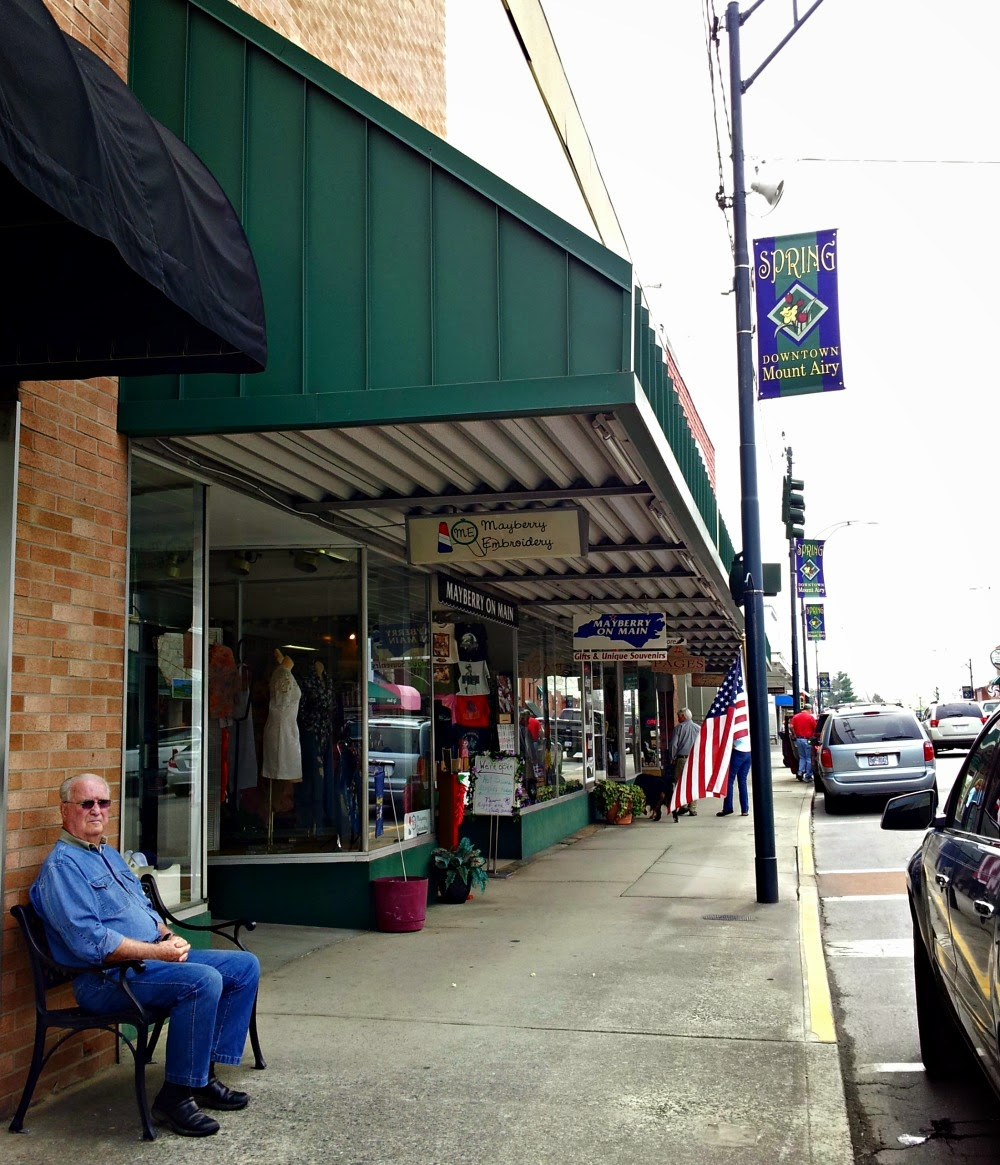 Mt. Airy, N.C. (also known as Mayberry)