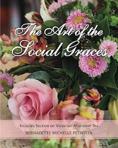 The Art of the Social Graces and The Art and Proper Etiquette of Afternoon Tea Books