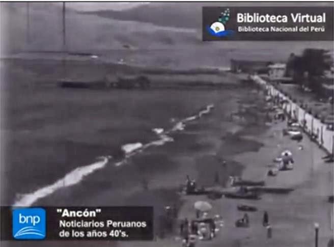 Balneario de Ancón 1940