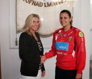 Nadia Bordón (ARG)en el Fran de Islandia | Mundo Handball