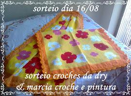 Sorteio 16/08/2012  - EU GANHEI e já recebi - Obrigada