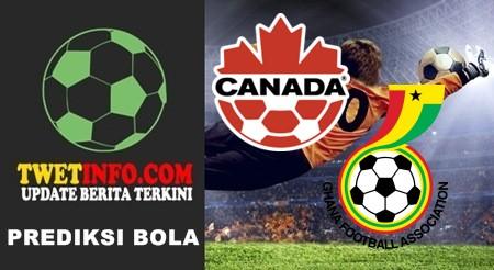 Prediksi Canada vs Ghana