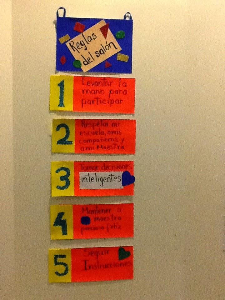 Tips de actividades para tu grupo escolar cartel con las for Actividades para el salon de clases