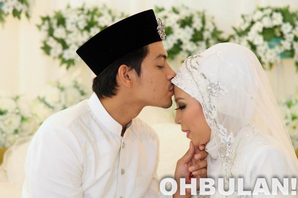 195 Gambar Perkahwinan Izzue Islam & Awin Nurin