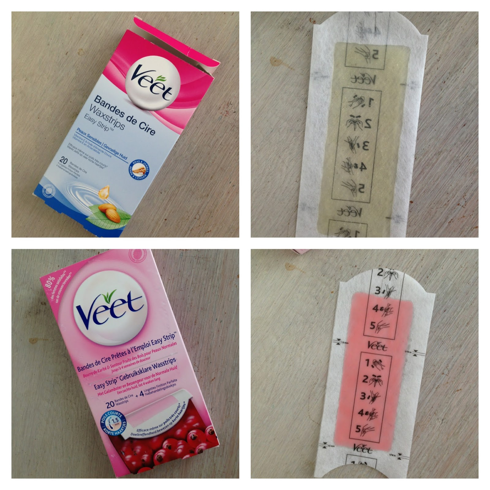 Project In Noise Veet Waxing Strips