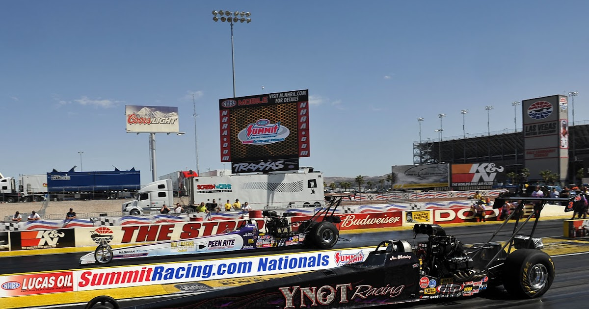 Drag racing news daily nhra lucas oil drag racing series for Las vegas motor speedway drag strip