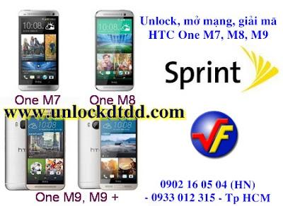 Huong dan unlock mo mang soff sua loi phan mem HTC ONE M9 sprint