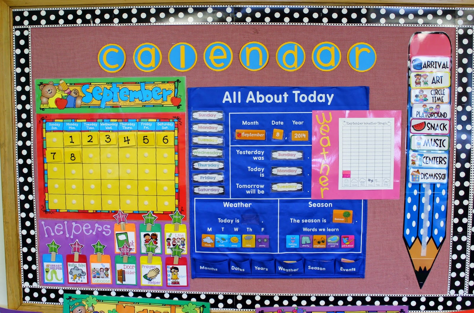 Calendar Ideas For Elementary : Elementary organization september